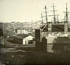 Circular Quay in Sydney looking west in 1859. 🌹