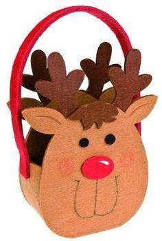 Cheap Christmas, Christmas Bags, All Things Christmas, Christmas Crafts, Xmas, Flower Pot Crafts, Flower Pots, Diy Hair Bows, Kids Bags