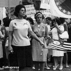 """Marcha da Família e Deus Pela Liberdade - 1964 (link - G1 - Especial """"50 anos do Golpe Militar"""")"""