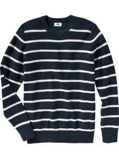 Men's Striped Sweaters Product Image