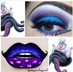 Ursula inspired #makeup