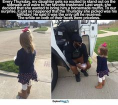 Faith In Humanity Restored – 14 Pics - Daily Lol Pics Sweet Stories, Cute Stories, Happy Stories, Beautiful Stories, Mundo Cruel, Human Kindness, Kindness Matters, Touching Stories, Faith In Humanity Restored