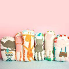 pinknounou.com - {NEW} printed animal softie pillow