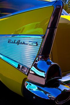 1957 Chevy Bel Air - Yes, in our '57 chevy was a place I loved to be.