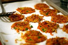 Indian-Spiced Vegetable Fritters with Curry-Lime Yogurt