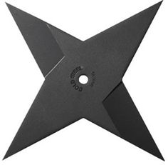 This Medium Cold Steel shuriken is constructed from 4mm thick, laser cut 1055 carbon steel with a black baked on finish. This item is fully sharpened and is sure to stick in the target every time!