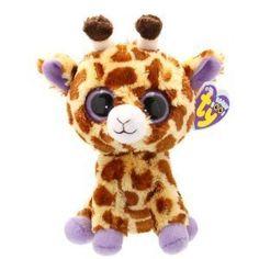 4365fdb2137 Ty Safari The Brown Spotted Giraffe Beanie Boos Stuffed Plush Toy