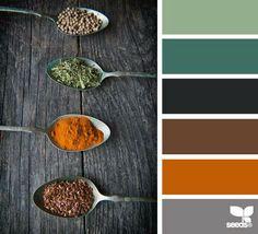 Spiced hues
