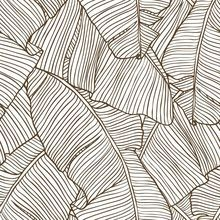Lined banana leave print - Wholesale fabric by Pine Crest Fabric