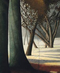 by Leon Spilliaert Gustav Klimt, Landscape Art, Landscape Paintings, Modern Art, Contemporary Art, Royal Academy Of Arts, Art Nouveau, Tree Art, Art Blog
