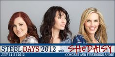 Tickets to SHeDAISY Live in Concert + Fireworks on July 21st!