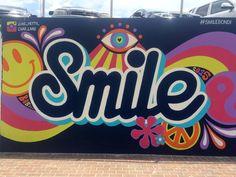 Graffiti walk in Bondi Beach, Sydney Australia