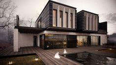 Casas prefabricadas de diseño. Más información sobre este y otro tipo de casas prefabricadas en: casasprefabricadasya.com #casas #prefabricadas #baratas #madera #diseño