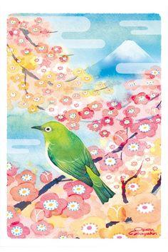 by Mayuko Ogura  http://oguramayuko.com/gallery.html