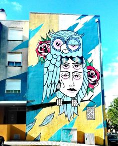 """229 curtidas, 4 comentários - Urban Art Porto (@urban_art_porto) no Instagram: """"Urban Art Porto in Lisbon Artwork at Quinta do Mocho for @louresartepublica #rsa_graffiti #lisbon…"""""""