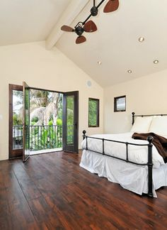 Willow Glen Spanish Style House - mediterranean - bedroom - san francisco - Studio S Squared Architecture, Inc.