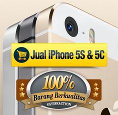 Jual iPhone 5S, jual iPhone 5C