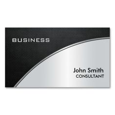 Professional corporate business card silver metallic business card professional corporate business card silver metallic business card templates pinterest template business cards and corporate business cheaphphosting Image collections