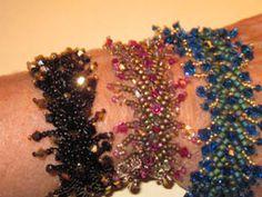 Sparkle and Shine beaded crystal bracelet