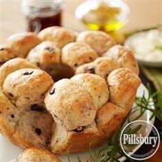 Mediterranean Olive Monkey Bread from Pillsbury® Baking