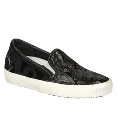Philippe Model black leather women slip-on shoes (SOLD NP01) - Bledoncy