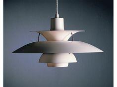 Designer Poul Henningsen is from Denmark. He made this famous PH lamp