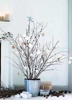 Faire des couleurs froides un atout d'élégance , christmas decoration                                                                                                                                                                                 Plus