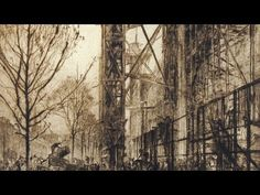 "Frank Brangwyn - Artist and Designer, in ""archival footage"", discusses his achievements, working methods and views on art. Full Film, Job S, Feature Film, Doodle, Illustration, Artist, Youtube, Painting, Illustrations"
