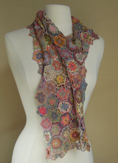 """""""mantra"""" Sophie Digard scarf 