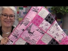 How to Turn a Simple Quilt into Something Very Special - YouTube