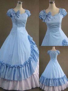 Azul Faldas Largas De Lolita - ágina 2 - Lolitashow.com