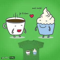 Coffee in love on Threadless
