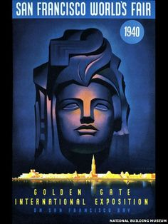 A poster for the San Francisco World's Fair of 1940