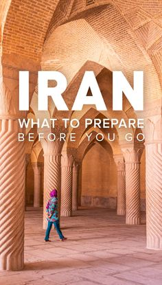 Travel to Iran can seem quite intimidating, but there's nothing to worry about... as long as you're prepared! Click through for 6 things you should prepare before going to Iran.