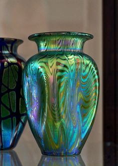 Art Nouveau Loetz Art Glass vase circa 1900
