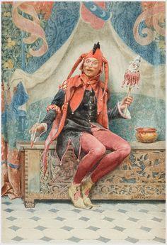 Кукольники и кукловоды в живописи... 8 - «Впечатления дороже знаний...»