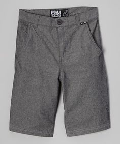 Another great find on #zulily! Black Pico Shorts by Maui and Sons #zulilyfinds