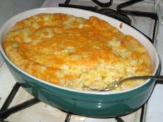 Jiffy Scalloped Corn Casserole Recipe - use 1 pkg of cream cheese instead of sour cream!