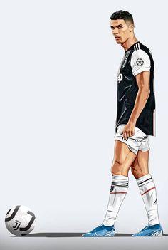 Cristiano Ronaldo wykonuje rzut wolny w wersji rysunkowej Juventus Cristiano Ronaldo Manchester, Cristiano Ronaldo Junior, Cristiano Ronaldo Juventus, Cristiano Ronaldo 7, Christano Ronaldo, Ronaldo Football, Sport Football, Cr7 Juventus, Cr7 Messi