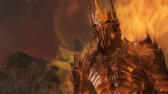 Sauron with a very light Flare Filter