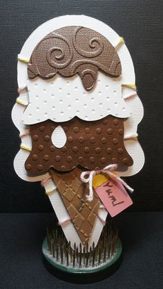 "7/25/2011; Maria at ""Believe Dream Create"" blog using the Sweet Treats cartridge"