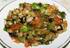 Салат «Мангал». Азербайджанская кухня