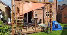 Garden pergola and sail project
