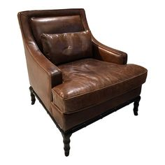 Our new espresso leather Caster Chair, the epitome in comfort, with a curved back which is tufted deeply. Hand applied nails provide a regal touch to the sidelines along with top grain high quality leather with an espresso leather finish. Black Leather Chair, Black Bamboo, Occasional Chairs, Club Chairs, Accent Chairs, Armchair, Antiques, Furniture, Home Decor