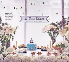 First birthday party ideas: The Little Prince theme @The Bump #GetLostOnIssuu
