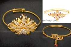 Jewellery Designs: Simple Bajuband Gallery for All Ages