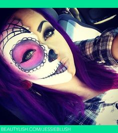 Sugar skull | Jessica B.'s (JessieBlush) Photo | Beautylish