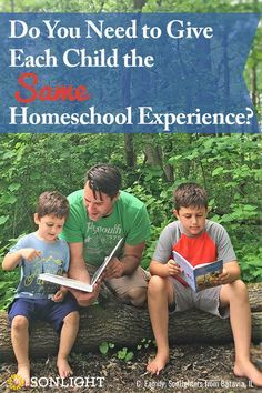 Do You Need to Give Each Child the Same Homeschool Experience? Homeschooling multiple children
