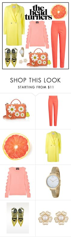 """Turning Heads"" by cherieaustin on Polyvore featuring Mark Cross, MaxMara, Harris Wharf London, Boutique Moschino, Fjord and Giuseppe Zanotti"