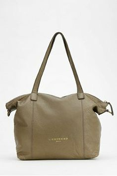 LIEBESKIND Oversized Leather Tote Bag